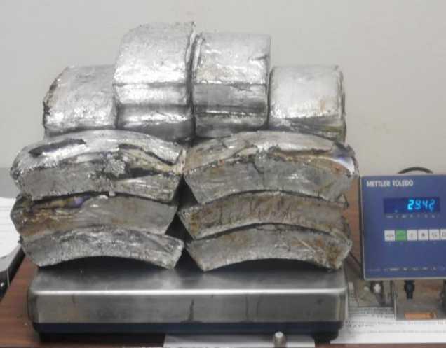 CBP Officers at Hidalgo International Bridge Arrest Woman with $1.2 Million in Methamphetamine