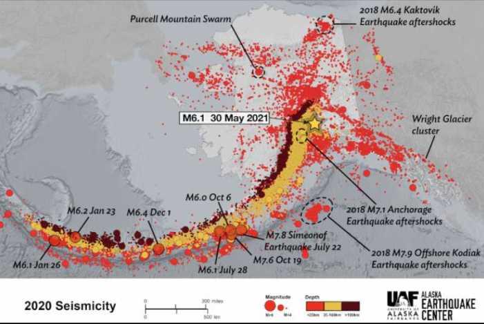 Alaska Earthquake Stirs Many; the Beat Goes On