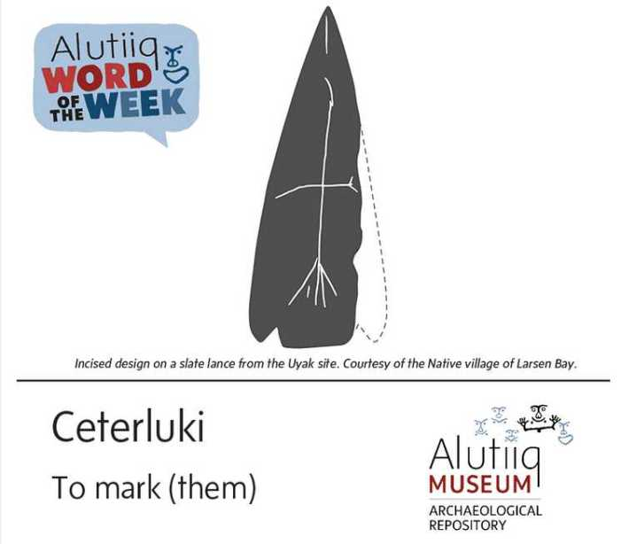 To Mark-Alutiiq Word of the Week-June 13th