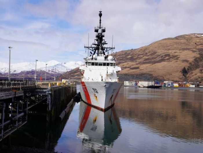 Coast Guard Cutter Stratton returns home following 105-day deployment