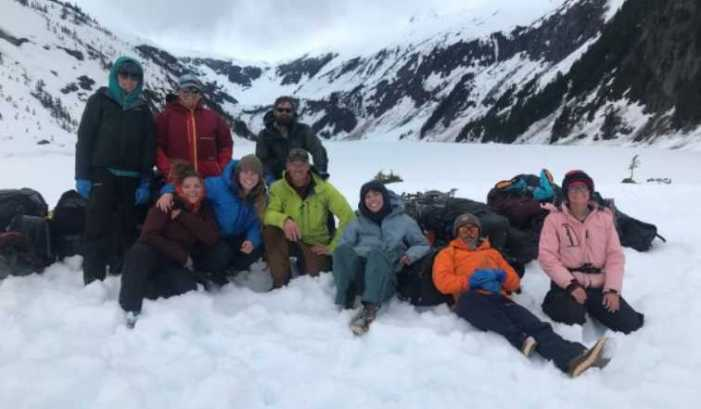 UAS Outdoor Studies Students Complete Capstones on Juneau Icefield and Above Gilkey River