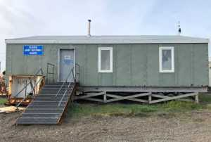 Courtesy Photo | A former Federal Scout Readiness Center, built during the Cold War, resides in Gambell, Alaska, Aug. 5, 2020. The Alaska Army National Guard Divestiture Program donated the building to Sivuqaq Incorporated May 17, 2021, where the St. Lawrence Island community will continue using it as a search and rescue operations headquarters.  see less | View Image Page