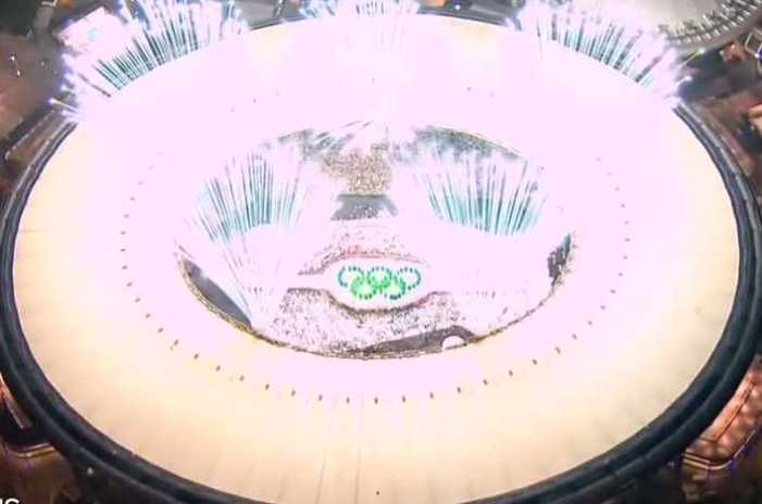Unprecedented Olympics Start with Socially-distanced Opening Ceremony
