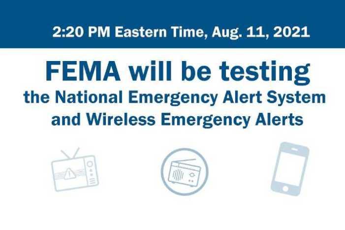 Alaska to receive Emergency Alert System and Wireless Emergency Alert test message on Aug. 11