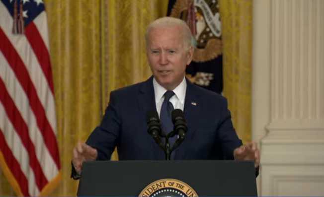 Biden Addresses Nation on Kabul Attack