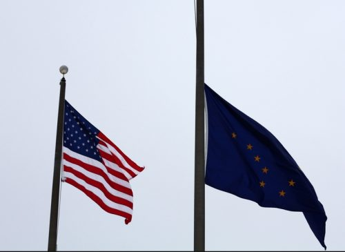 Governor Walker Lowers Alaska Flags for Memorial Day