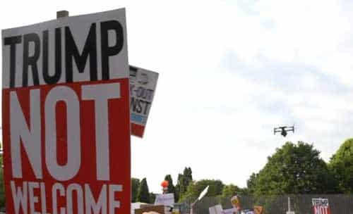 An Unsettled Britain Playing Host to Trump