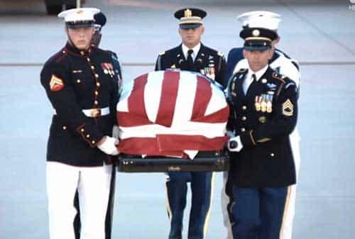 Late Senator John McCain Returns to US Capitol for Final Farewell
