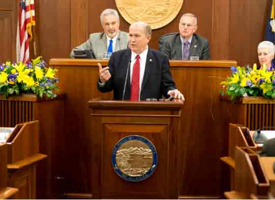 Governor Walker Delivers Third State of the State Address