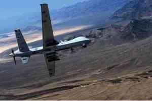 An MQ- Reaper remotely piloted aircraft.(U.S. Air Force photo by Senior Airman Cory D. Payne/Not Reviewed)