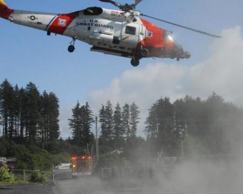 Coast Guard Medevacs ATV Victim from Saltery Cove