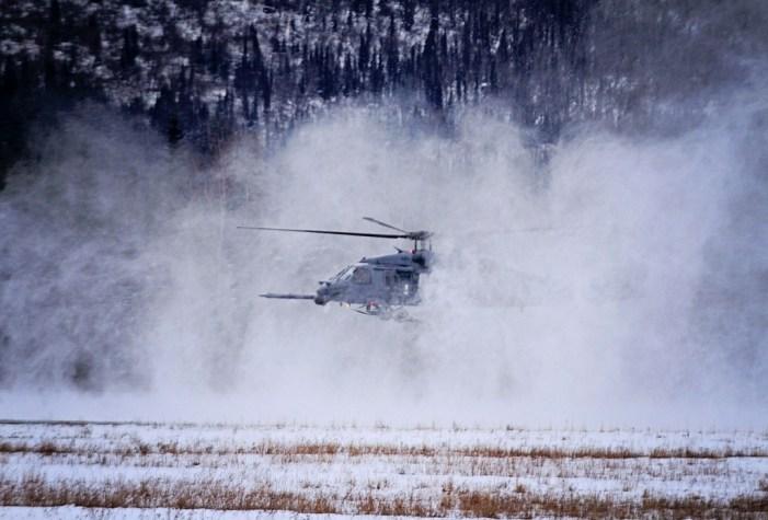 Alaska Air Guardsmen Rescue Two Near Chatanika River