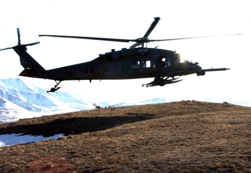 Alaska Air National Guard Airmen Rescue Possible Stroke Victim at Stoney River Lodge