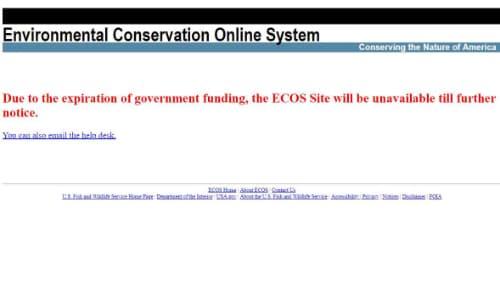 Bernhardt Uses Shutdown to Block Public From Environmental Reviews