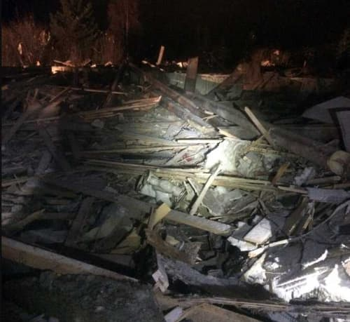 Home Explodes, Closes Sterling Highway North of Homer