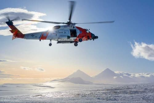 Coast Guard Medevacs Man 100 Miles off Cold Bay