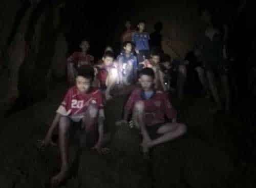 First Four Boys Rescued From Thai Cave