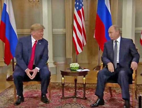 Trump Rebuffs Critics, Cites Great Meeting with Putin