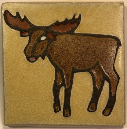"4"" moose facing left"