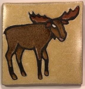 "4"" moose facing right"