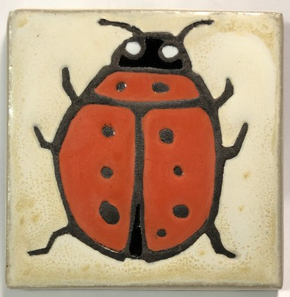 "4"" Lady Bug Top View"