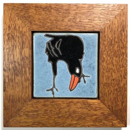 "4"" Raven with Oak Frame"