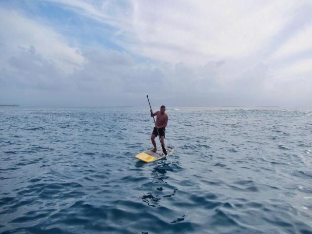 Paddleboarding on vaikeampaa kuin miltä se näyttää