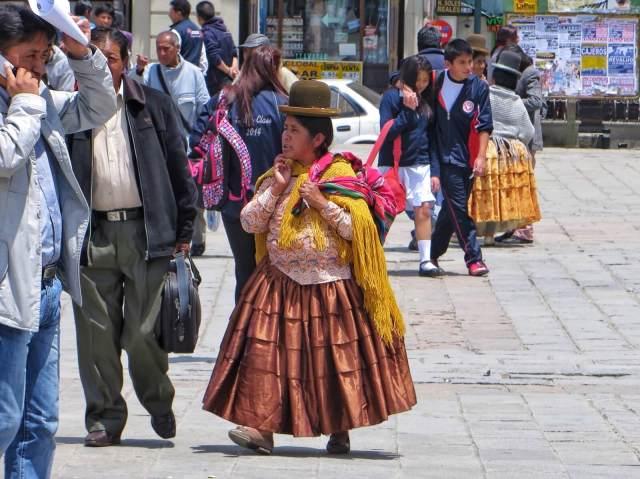 Yli 60 % bolivialaisista kuuluu alkuperäiskansoihin.