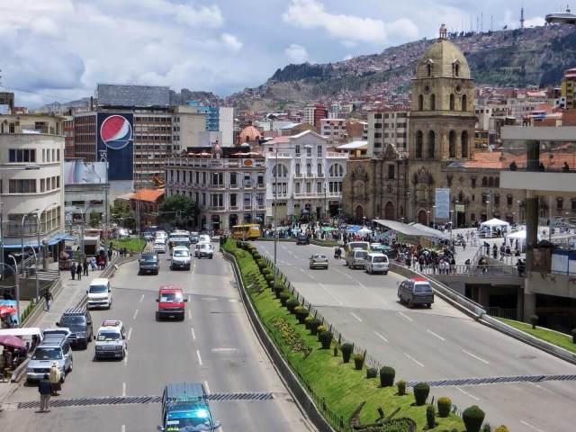 Prado, La Pazin pääkatu.