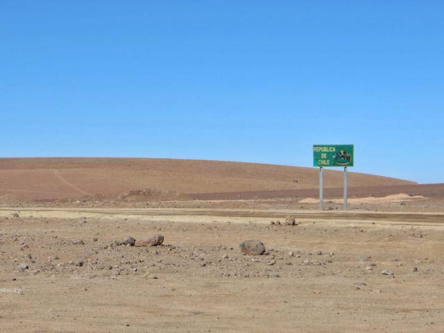 Chile, vanha tuttu.