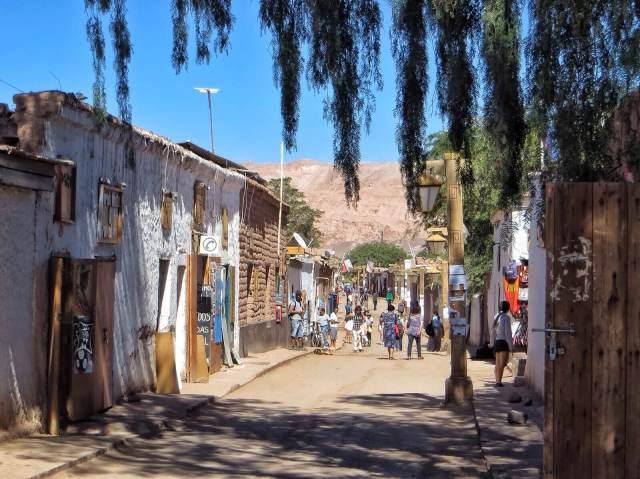 Caracoles, San Pedron pääkatu.