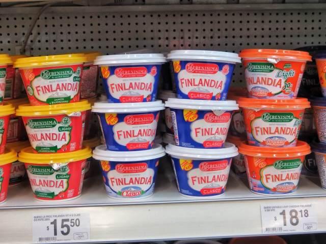 Ja kun kerran päästiin puhumaan ruoasta: Finlandia-tuorejuustoa löytyy jokaiseen makuun.