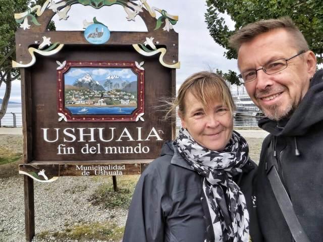 Ushuaia: check. Nyt voimme kääntyä takaisin pohjoiseen.