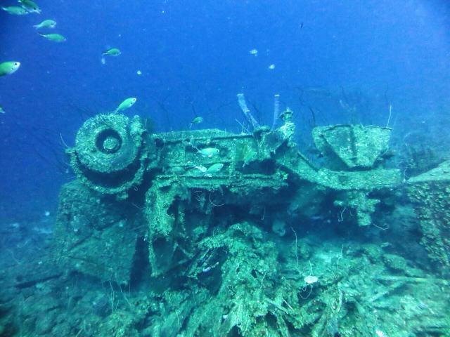 Marie Pampunin erikoisuus oli Car Pile, kasa 60-luvulla mereen upotettuja autoja ja muuta romua.