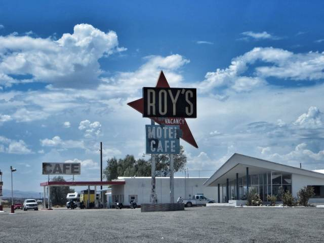 Roy's Motel & Cafe, Amboy, CA.
