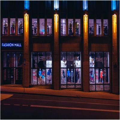 A shopping center