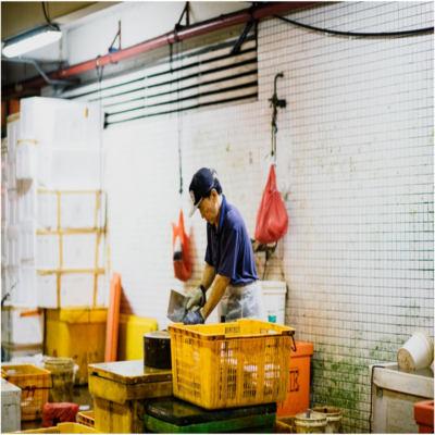 A man at work