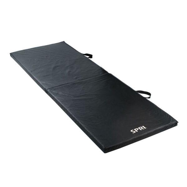 SPRI Folding Exercise Mat 60″ X 24″ X 2″ – Black