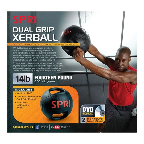 Dual Grip Xerball – 14lb