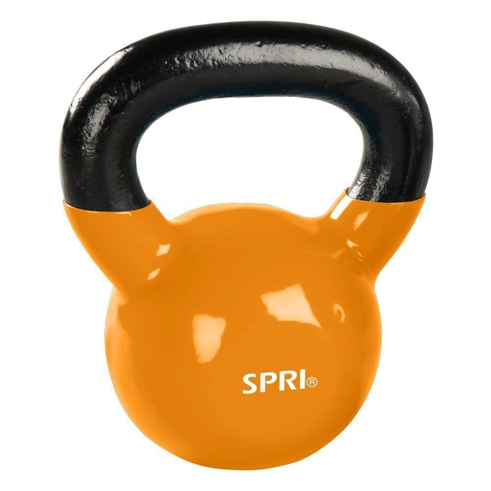 SPRI Kettlebell – 8lb-Orange