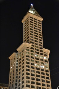 Smith Tower at Night