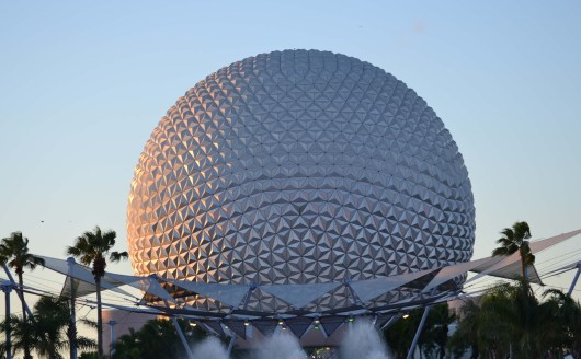 Spaceship Earth at Epcot - Full View