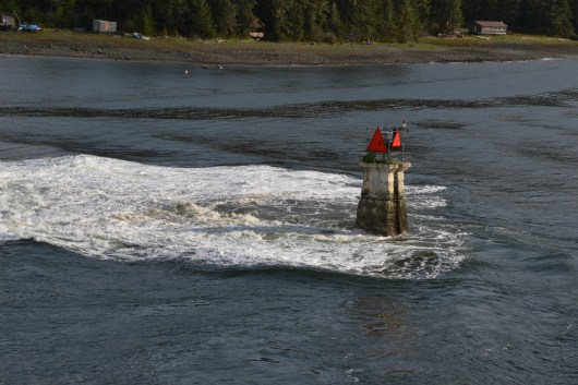 AMHS - Columbia - Wrangell Narrows Shallow Water