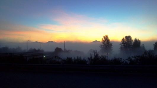 Sunrise in Everett
