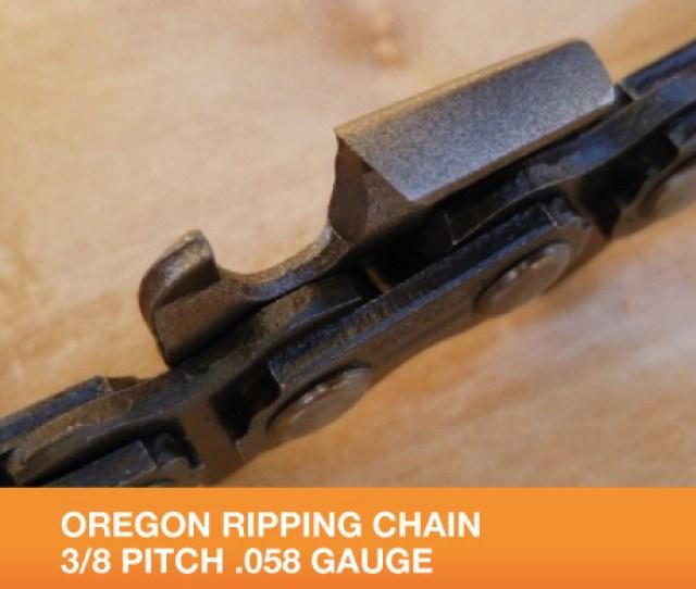 Oregon Ripping Chain  Gauge