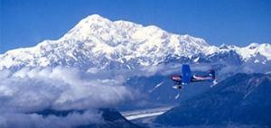 Alaskan Landscape Snow
