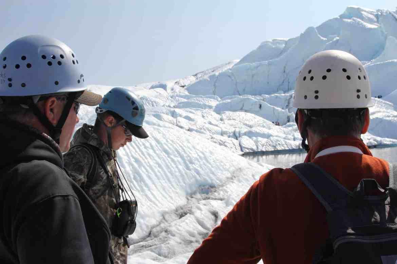 Glacier treks and tours