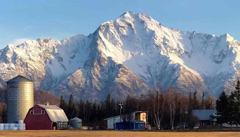 Pioneer peak Alaska tour