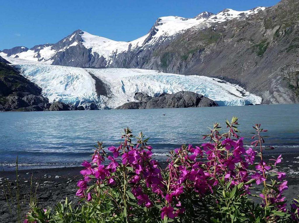 Portage Glacier Alaska trip