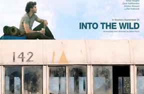 Sean Penn's latest film Into the Wild will have its world debut in Fairbanks, Alaska.